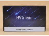 Смарт ТВ-приставка H96 Max (4 Gb RAM / 32 Gb Flash)