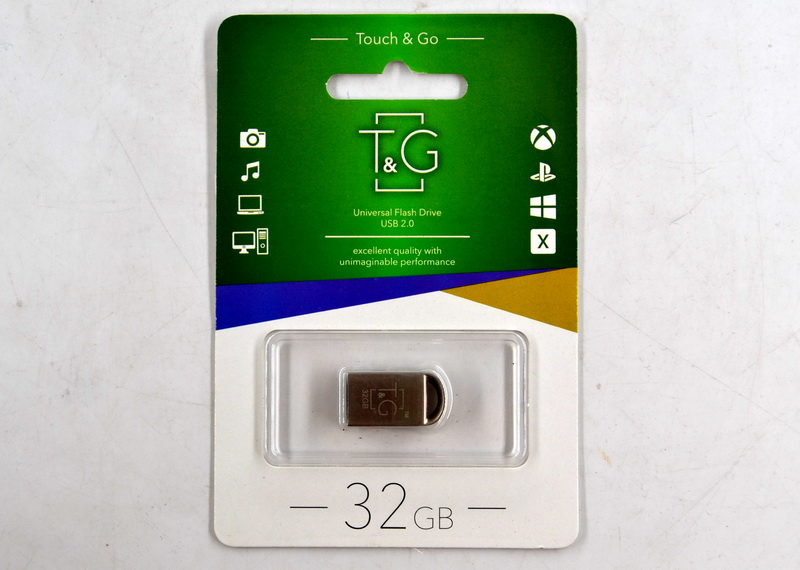 Флеш-память USB Touch and Go Metal 32 Gb